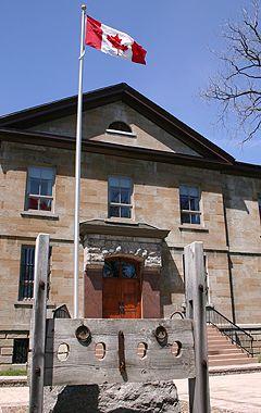 Cornwall Jail, Canada