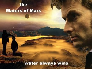 Dr Who and the Waters of Mars